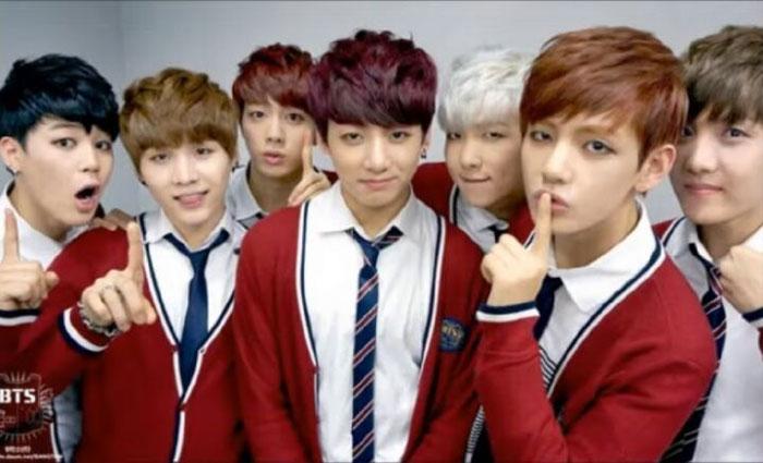 Корейская группа BTS
