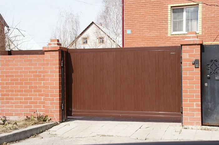 Критерии выбора уличных ворот